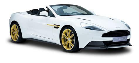 Aston Martin White Car Png Image