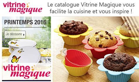 vitrine magique catalogue