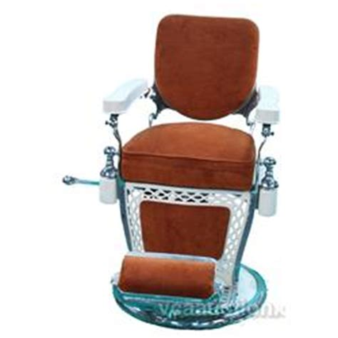 emil j paidar barber chair white porcelain w burnt or