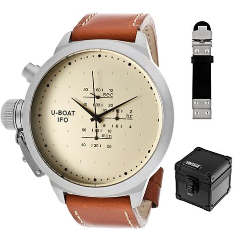 U Boat Watch With Diamonds by U Boat Vintage Men S Watches