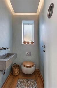 Wandgestaltung Gäste Wc : g ste wc gestalten 16 sch ne ideen f r ein kleines bad ~ Markanthonyermac.com Haus und Dekorationen