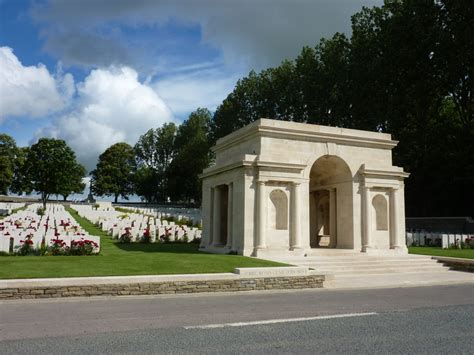 Serre Road Cemetery entrance to serre road cemetery no 1 somme battlefield