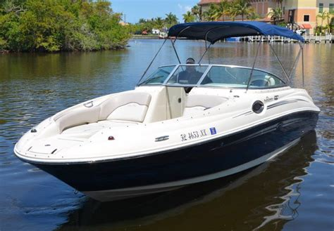 Used Sea Ray Sundeck Boats For Sale by Sea Ray 240 Sundeck Boat For Sale From Usa