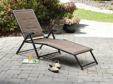 Cheap Tri Fold Lounge Chair by Garden Oasis Harrison Matching Folding Padded Sling Chaise