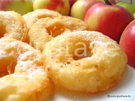 beignets aux pommes et 224 la cannelle la recette gustave