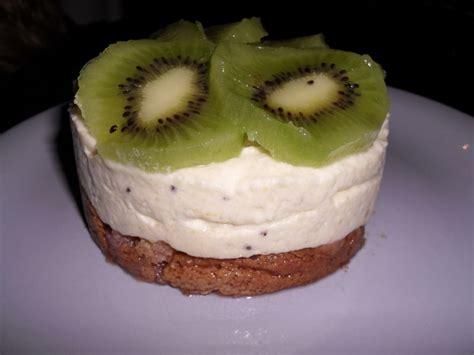mousse au kiwi petites gourmandises