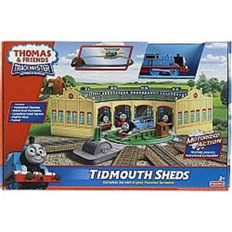 friends trackmaster tidmouth sheds playset