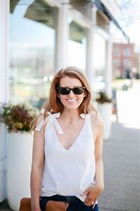 MILLY TIE SHOULDER V-NECK TANK FOR A SURPRISE DATE NIGHT