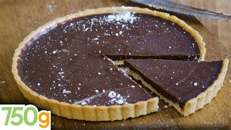 recette de tarte au chocolat inratable 750 grammes