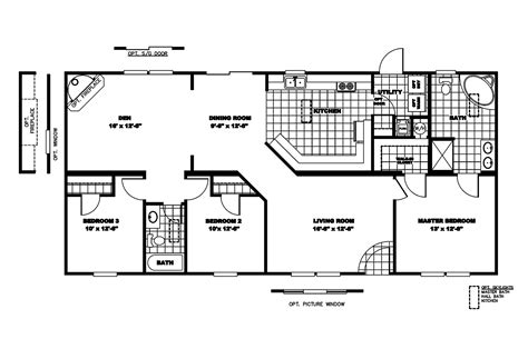 Clayton Mobile Home Floor Plans Photos by Manufactured Home Floor Plan 2006 Clayton Discontinued