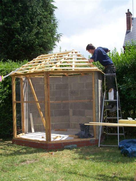 construction de notre voliere exterieur page 2