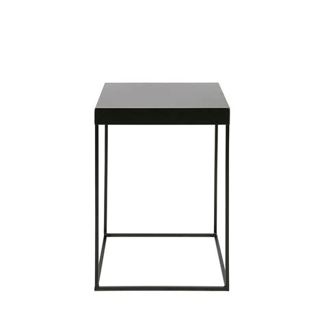 Table D'appoint Design Industriel Métal Noir Meert By Drawer
