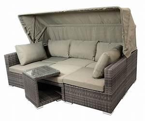 Rattanmöbel Garten Lounge : rattanm bel terrasse garten lounge sets mit bis zu 6 sitzpl tzen aus polyrattan design ideen ~ Markanthonyermac.com Haus und Dekorationen