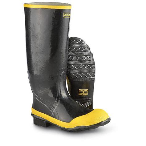 Rubber Boot Pics by Men S 16 Quot Lacrosse Steel Toe Rubber Boots 185870 Rubber