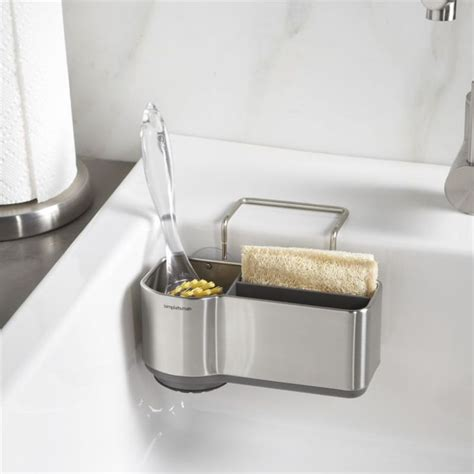 simplehuman 174 sink caddy crate and barrel crates and design