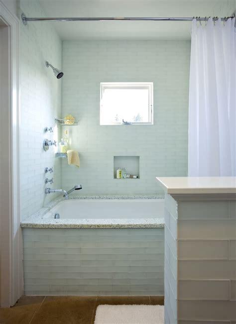 tub surround tile bathroom rustic with bathroom lighting