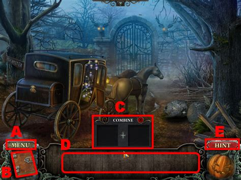 The Headless Horseman Walkthrough, Guide