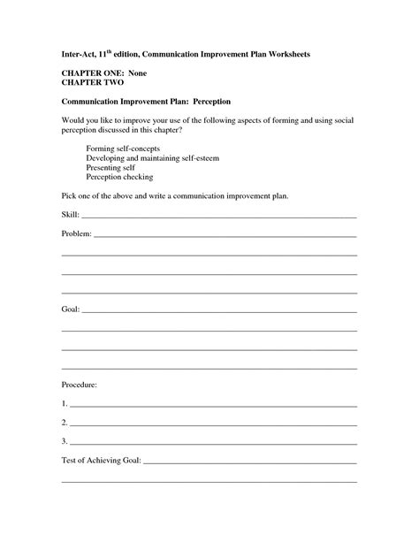 13 Best Images Of Positive Communication Worksheets  Assertive Communication Worksheet, Group