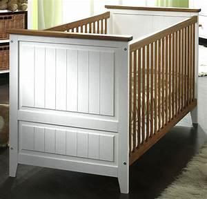 Tagesbett Holz Weiß : massivholz babybett kinderbett juniorbett wei honig kiefer massiv holz ~ Markanthonyermac.com Haus und Dekorationen