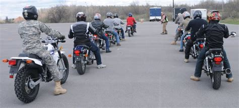 Motorcycle Safety Instructors Prepare Fort Drum Riders To Drive On Two Wheels  Article The
