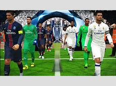 PES 2017 UEFA Champions League Final Real Madrid vs