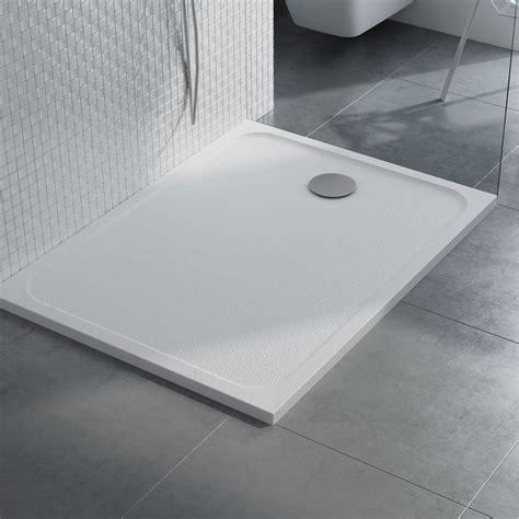 receveur de rectangulaire l 120 x l 90 cm r 233 sine blanc mila leroy merlin