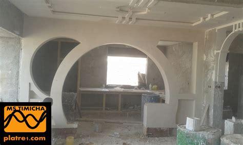 merveilleux plafond en platre chambre a coucher 9 arc en platre moderne marocain platre evtod