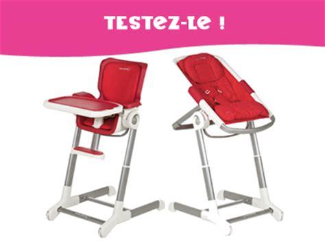 testez pour enfant magazine ce mois ci un ensemble transat chaise haute keyo de b 233 b 233 confort