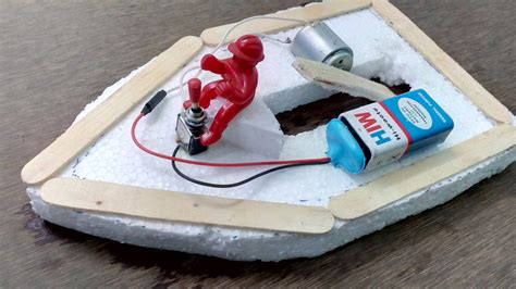 Toy Boat Ideas by Make Electric Toy Boat Diy Boat Youtube