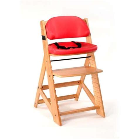 keekaroo height right high chair cherry comfort cushion n cribs