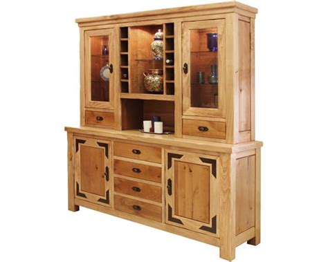 Rustic Buffet And Hutch, Rustic Lodge Buffet & Hutch Set Exterior Doors At Home Depot Craftsman Homes Brick Zebra Bedroom Decorating Ideas For A Small Living Room Choosing Paint Colors Colours Cabinets