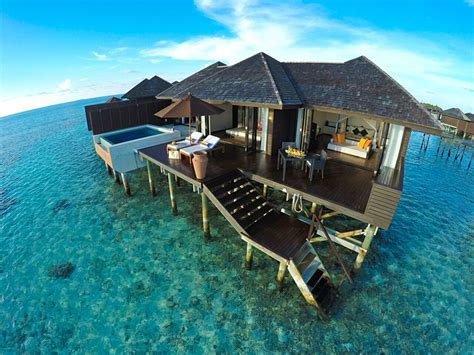 5 Seriously Stunning Overwater Bungalows Goway