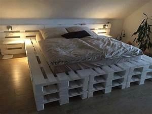 Bett Selber Bauen Paletten. palettenbett bauen ganz einfach hier 2 ...