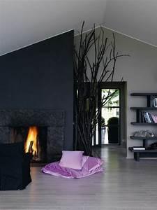 Wohnzimmer Boden Grau : wandfarbe grau 120 atemberaubende bilder ~ Markanthonyermac.com Haus und Dekorationen