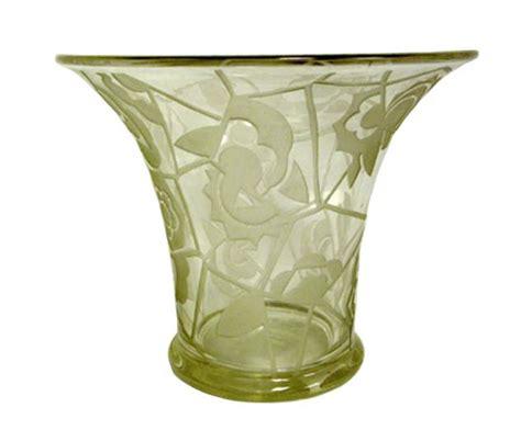 deco glass vase modernism