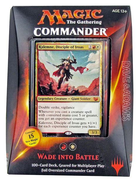 magic the gathering commander deck box 2015 da card world