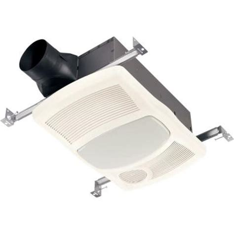 nutone 100 cfm ceiling directionally adjustable exhaust bath fan with light and 1500 watt heater