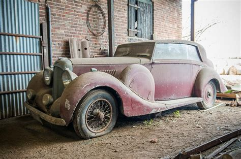 barn finds cars barn find lagonda v12 hooper snapped up prior to auction