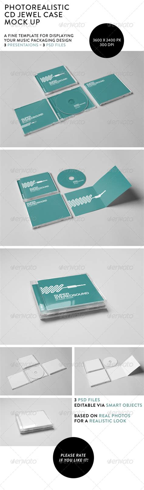 buy after effect logo template psd realistic cd jewel case mock up mockup packaging design