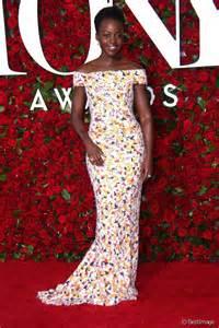 lupita nyong o sur le tapis des tony awards 2016 photo