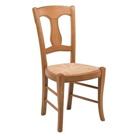 chaise rustique en paille de seigle et ch 234 ne massif 263 4 pieds tables chaises et tabourets
