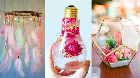 Diy Room Decor! 29 Easy Crafts Ideas At Home Youtube