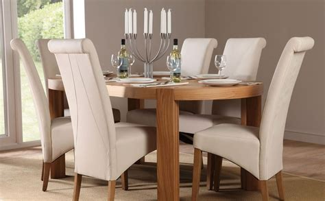 Oval Dining Table And Chairs Modern With Photos Of Oval