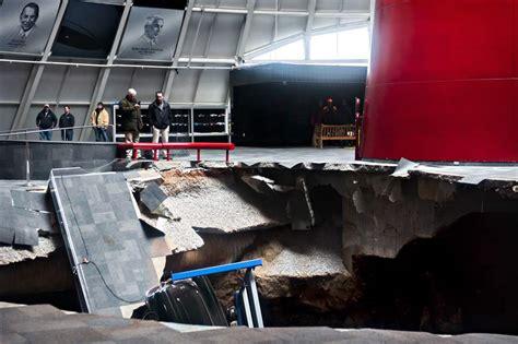 chevrolet takes on task of restoring corvettes swallowed