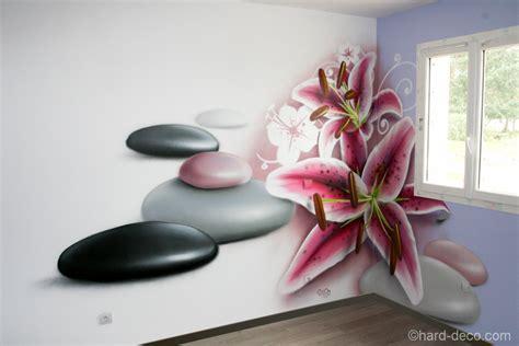 idee peinture chambre adulte zen kirafes