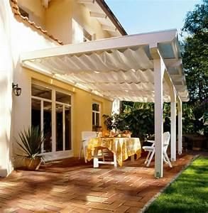 Terrassenüberdachung Aus Stoff : sch ne terrassen berdachung wenn die terrasse den wohnraum erweitert ~ Markanthonyermac.com Haus und Dekorationen