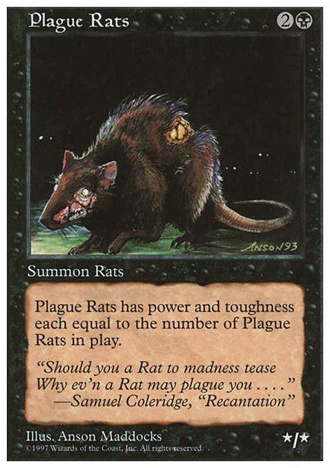 plague rats 5ed mtg card