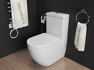Stand Wc Eckig : stand wc wc sitz sp lkasten kombination kb76a ebay ~ Markanthonyermac.com Haus und Dekorationen