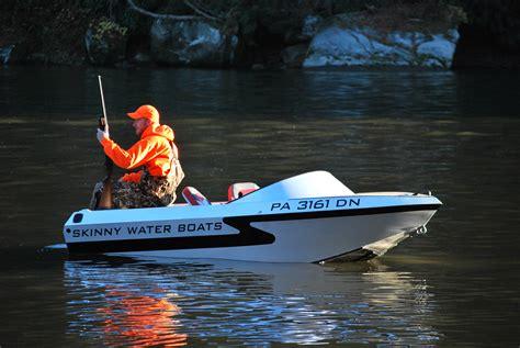 Mini Jet Boat Videos by Skinny Water Boats Compact Mini Aluminum Jet Boats