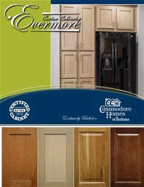 commodore homes of indiana evermore custom cabinetry kcma